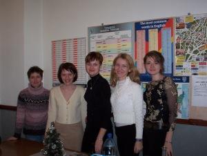 Lorraine, Marina,Julia, Sveta